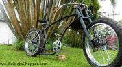 Olá, Estive algum tempo sem atualizar o blog Bicicleta Chopper, no entanto devem entender como é dificil sendo que no Brasil e em Portugal estas bicicletas não são muito comuns e é dificil conseguir novidades, no entanto na semana passada falei sobre uma bicicleta customizada por uma empresa espanhola (ver aqui), esta semana trago um …