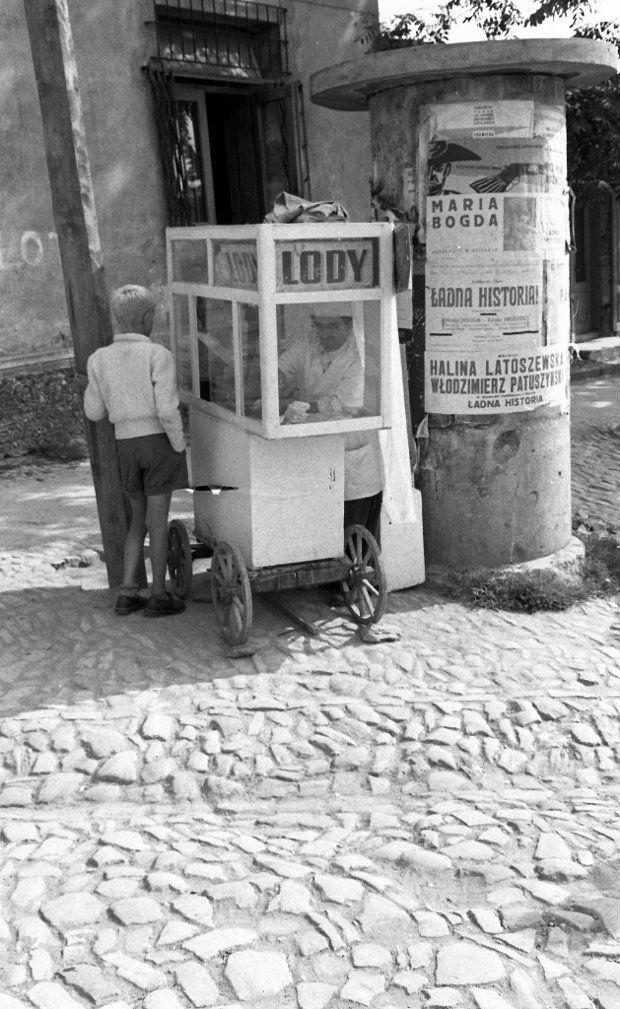 Fot. Romuald Broniarek, Sandomierz. 1959.