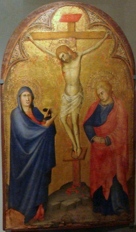 Andrea di Bartolo - Crocifissione di Cristo - 1390 - tempera e oro su tavola - National Museum in Warsaw
