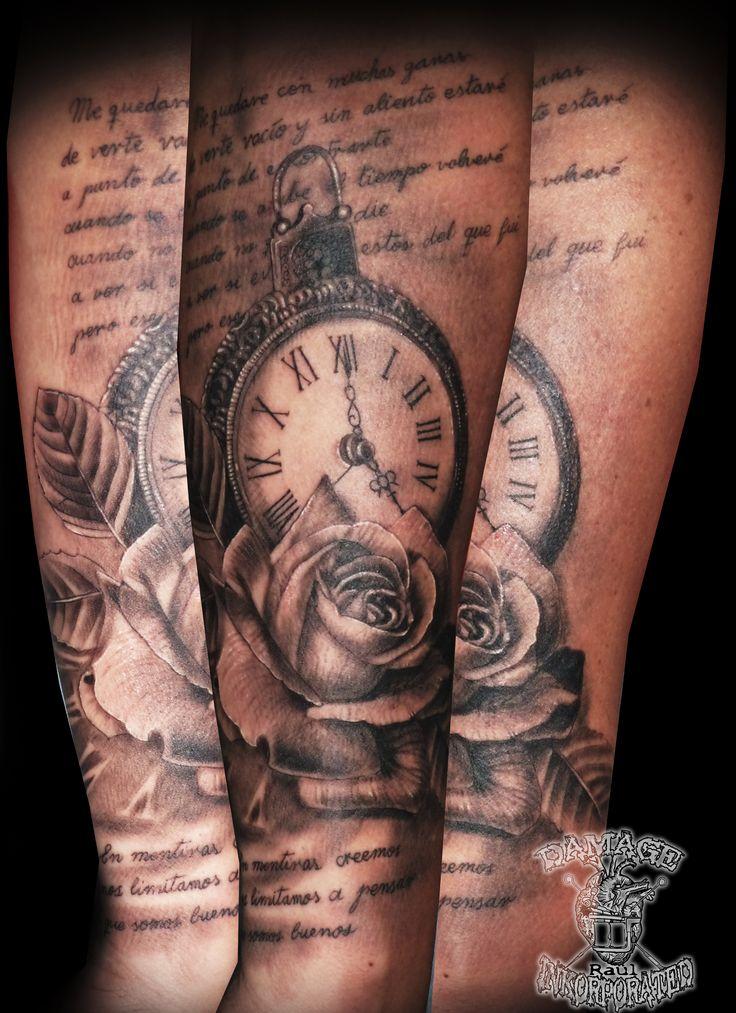 reloj con candado, rositas y letra de estopa.... casiná!! jjjj