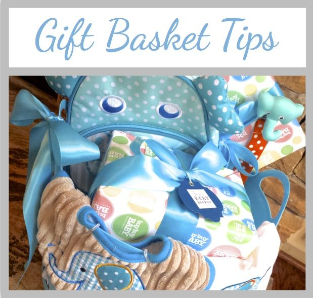 114 best gifts images on pinterest almonds almond and favors homemadeville tips for arranging gift baskets elephant baby shower basket negle Images