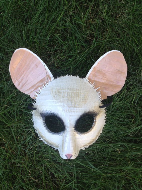 Mouse mask door mouse Alice in wonderland by HighMoonCreations