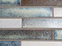 Antiek glazuur mozaïek tegels 2.5x15 cm