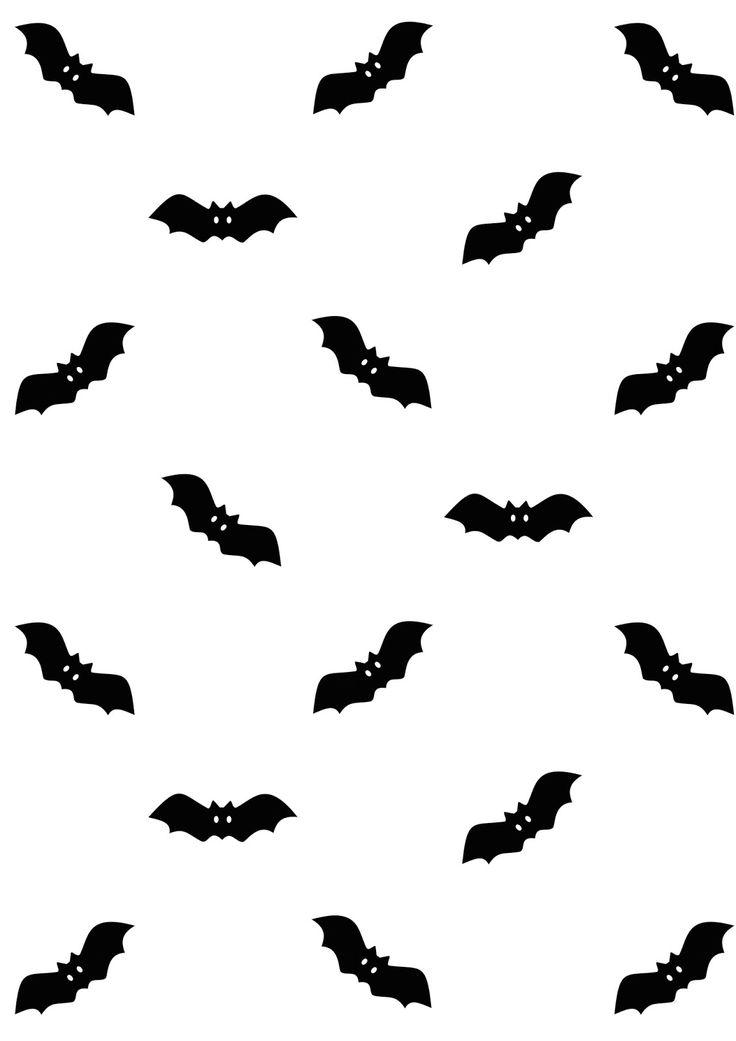 Free printable bat pattern paper - ausdruckbares Geschenkpapier - freebie | MeinLilaPark – DIY printables and downloads
