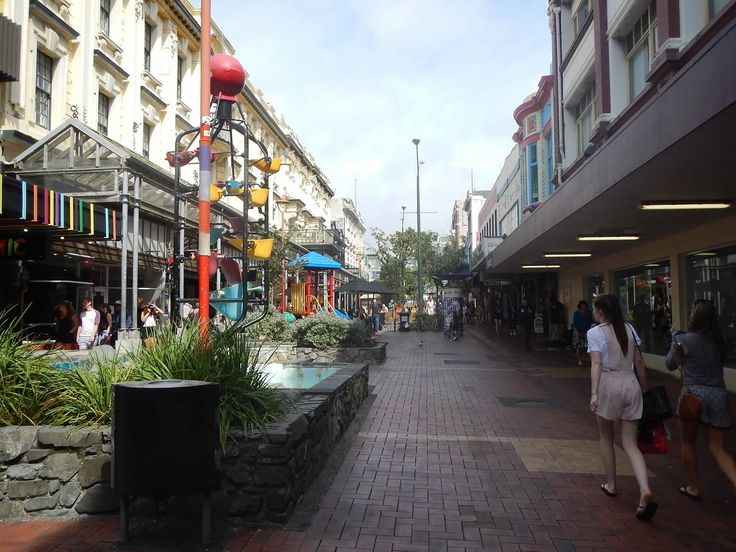 Cuba St Wellington - Free things to do in New Zealand