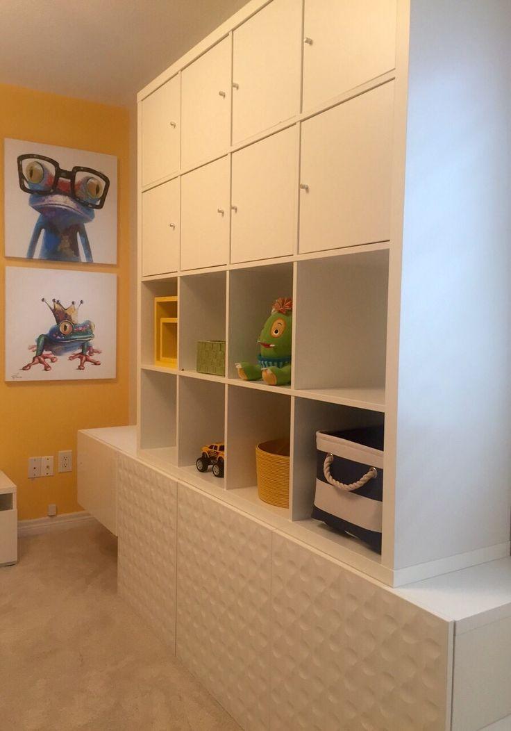 Playroom   Ikea cabinets. Playroom. Kids play area