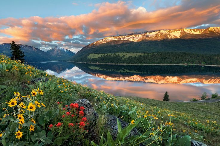 Sunrise at Wallowa Lake, Oregon