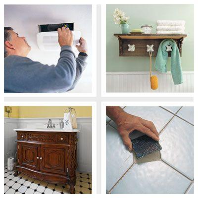Easy Bathroom Upgrades