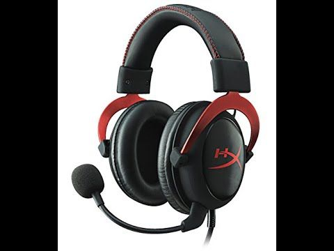 HyperX Cloud II Gaming Headset for PC/PS4/Mobile - Red (KHX-HSCP-RD)