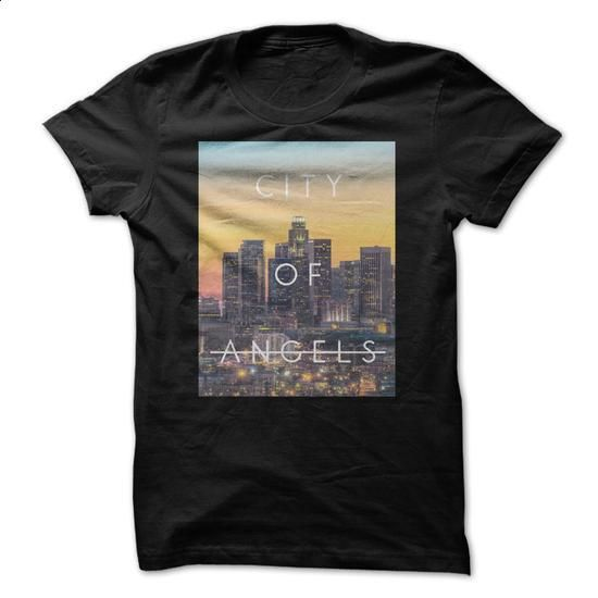 City Of Angels - #funny t shirts #sleeveless hoodies. BUY NOW => https://www.sunfrog.com/Geek-Tech/City-Of-Angels.html?60505