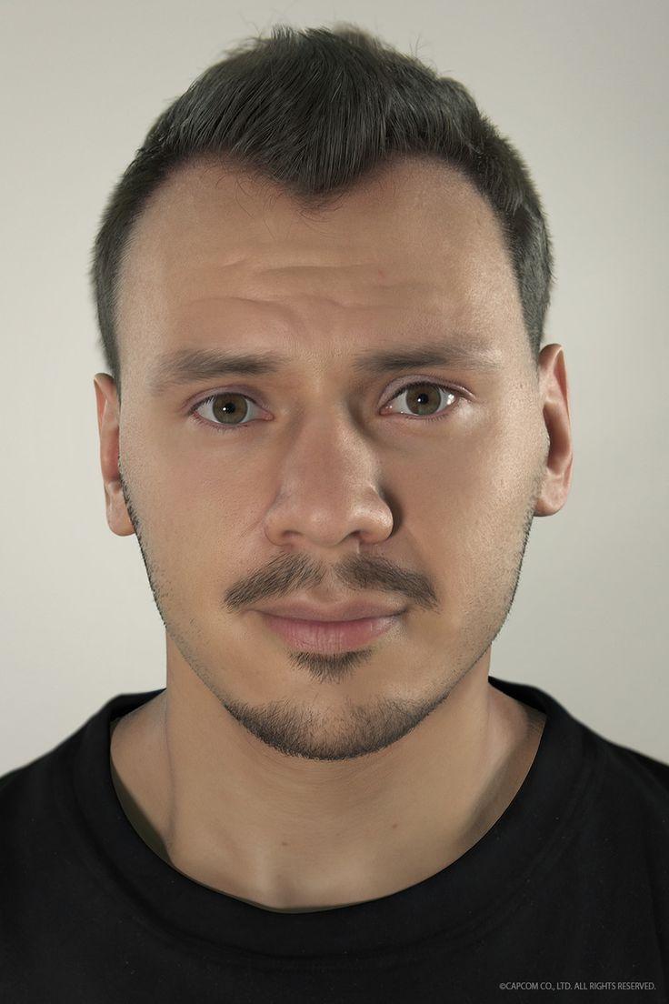 CAPCOM - Realistic Portrait by Riccardo Minervino | Realistic | 3D | CGSociety