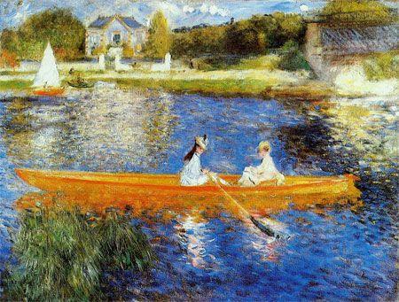 The Seine at Asnières (The Skiff) by Pierre-Auguste Renoir