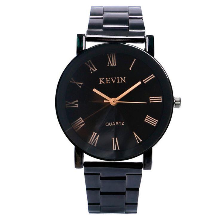 $5.09 (Buy here: https://alitems.com/g/1e8d114494ebda23ff8b16525dc3e8/?i=5&ulp=https%3A%2F%2Fwww.aliexpress.com%2Fitem%2FNew-Arrival-KEVIN-Exquisite-Minimalist-Black-Dial-Wristwatch-Bracelet-Simple-Trendy-Analog-Quartz-Watch-Women%2F32784597979.html ) New Arrival Relogios Masculino KEVIN Stainless Steel Minimalist Black Dial Wristwatch Bracelet Analog Quartz Men Watch for just $5.09