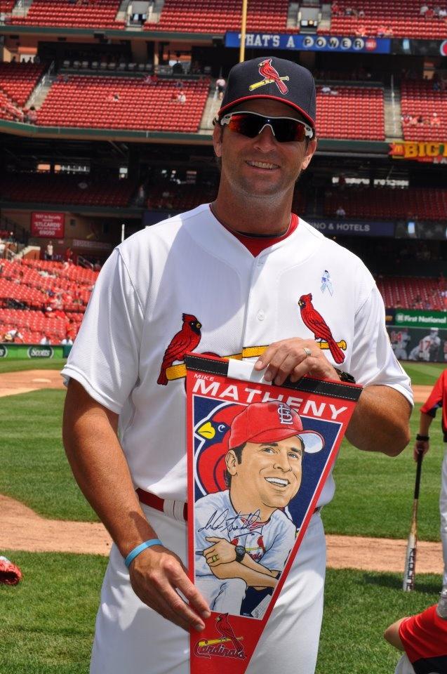 Mike Matheny St louis cardinals baseball, St louis
