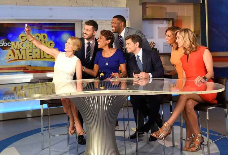 """The cast of """"Good Morning America"""" in June. Photo: Good Morning America/Facebook"""