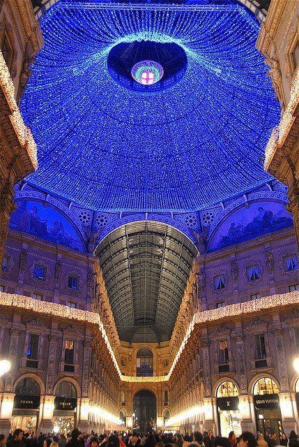 Christmas in Milan, Italy | Incredible Pictures ... I remember the wonderful shopping too!