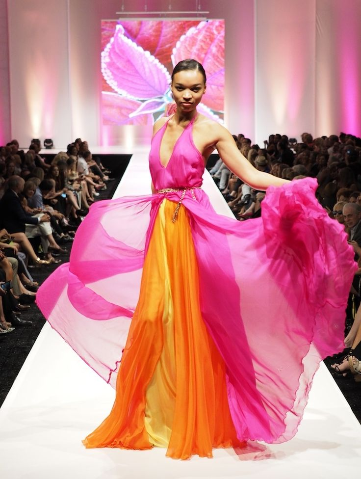 Two Piece Evening Gown by Designer Marly Kluge