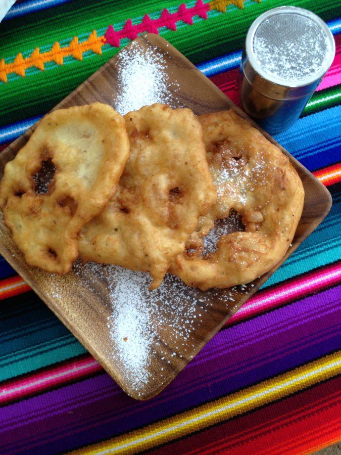 Bolivian Bunuelos - they were sooooo good...