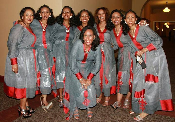 Mind Blowing Traditional Wedding Dresses Around The World: Eritrean Jewelry & Zuria