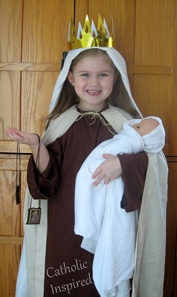 Our Lady of Mt. Carmel Costume and a few more costume ideas for All Saints day..... | Catholic Inspired