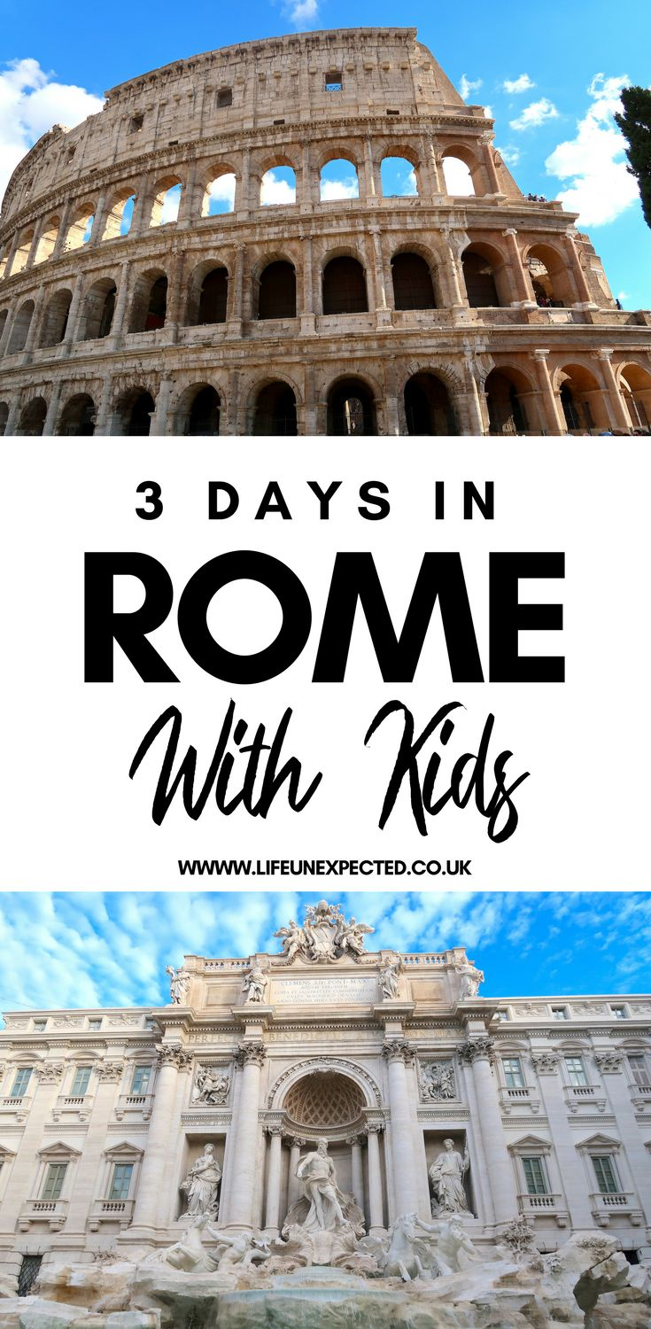 Places You Must Visit In Rome With Kids | What To Do In Rome | What To Do In Rom…