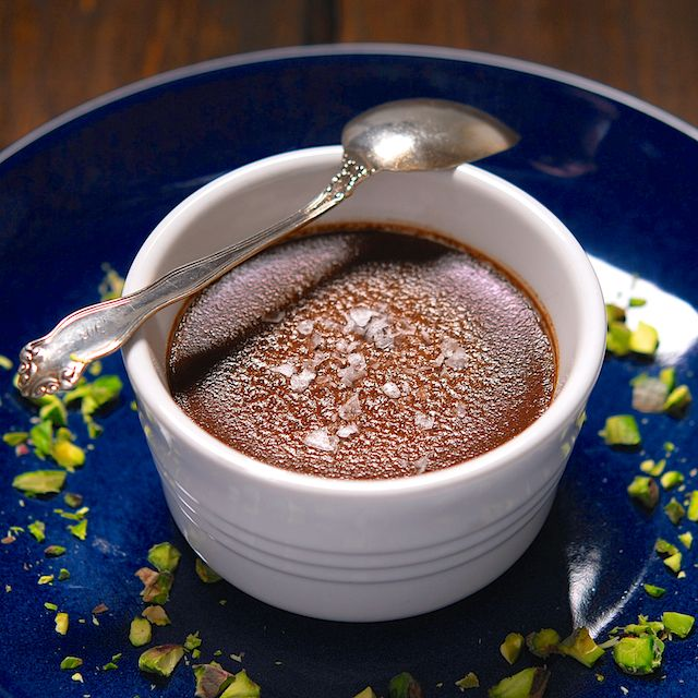 Chocolate Budino - I've been craving delicious homemade chocolate pudding.  This will meet that urge and then some!