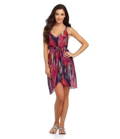 Aryn K. Print Mini Dress | Dillards.com