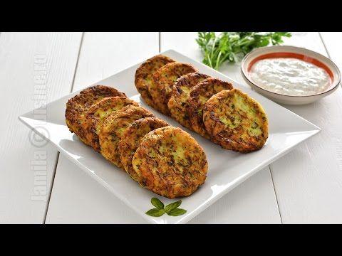 Chiftelute de dovlecei / Zucchini Fritters (CC Eng Sub) | JamilaCuisine - YouTube