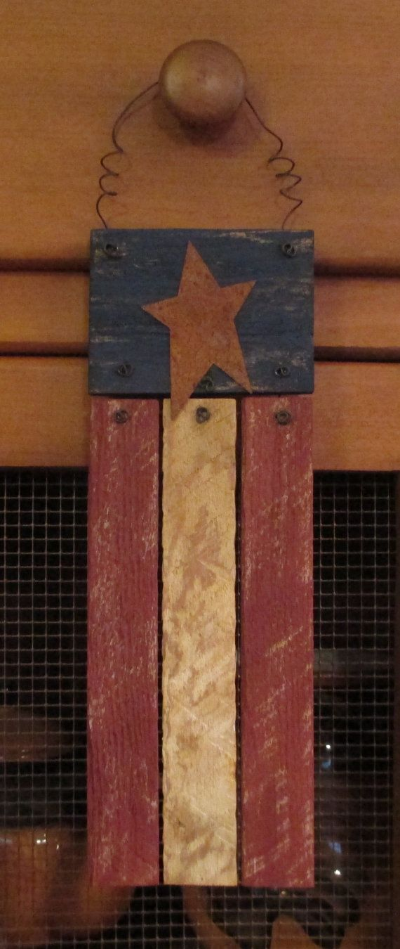 Made With Hardwood Solids With Cherry Veneers And Walnut: 1000+ Ideas About Wooden American Flag On Pinterest