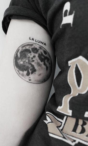 #moon #tattoo