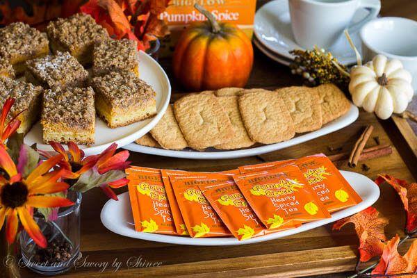 Pumpkin Spice Tea Party via @shineshka