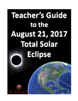 On August 21, 2017, a total eclipse of the sun will occur in the United States. The eclipse will be visible along a line stretching from Oregon to South Carolina. Millions of people live near the path of totality, the area where the total eclipse is visible.