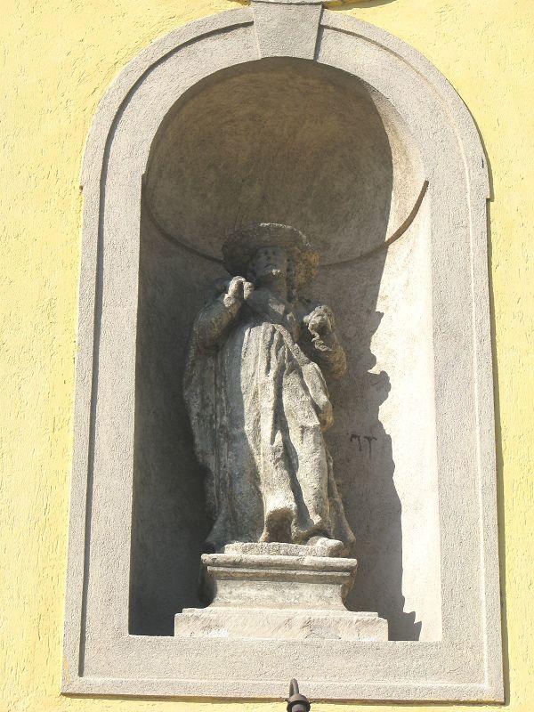 Szent Vendel szobor (Zsámbék) http://www.turabazis.hu/latnivalok_ismerteto_5024 #latnivalo #zsambek #turabazis #hungary #magyarorszag #travel #tura #turista #kirandulas