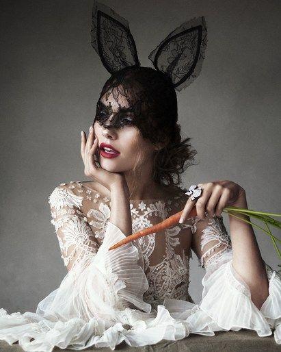 by Beca Ramos  Harper's Bazaar March 2013. Photo: Victor Demarchelier.