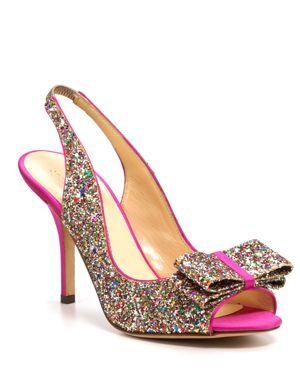 kate spade new york Pumps - Charm Glitter