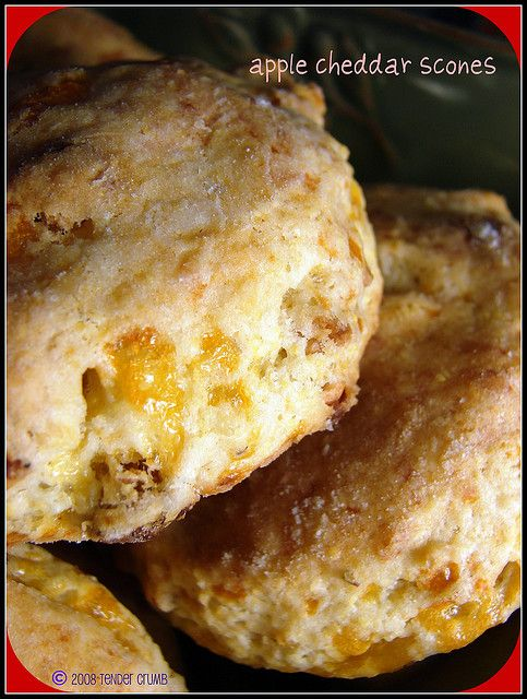 apple cheddar scones | Food | Pinterest