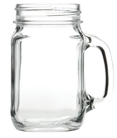 Jam Jar Glasses