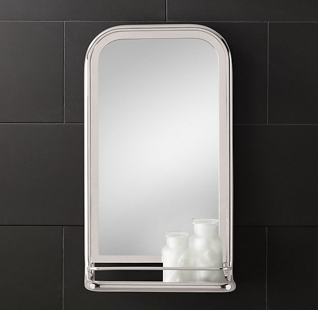 Astoria Mirror With Tray Bathroom Mirror With Shelfmirror