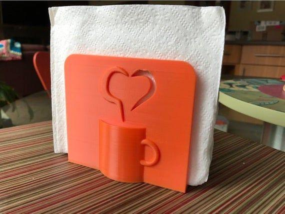 Coffee Themed Napkin Holder / tea cup napkin holder / coffee / tea / mug / napkin / cute / unique /