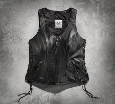 Avenue Leather Vest