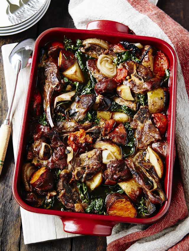 Lamb osso bucco from Dr Libby Weaver's Real Food Kitchen cookbook. Photography & styling by Tanya Zouev.