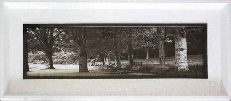 Fotografía enmarcada Código Ch03-4 70 x 30 cm $8.000