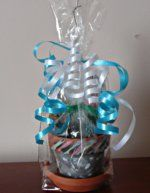 Colored Cellophane Gift Bags. Have a small gift to give? Here are some great gift bag ideas for birthday gift bags, Valentine, Easter and more. Inexpensive cello gift bag ideas.