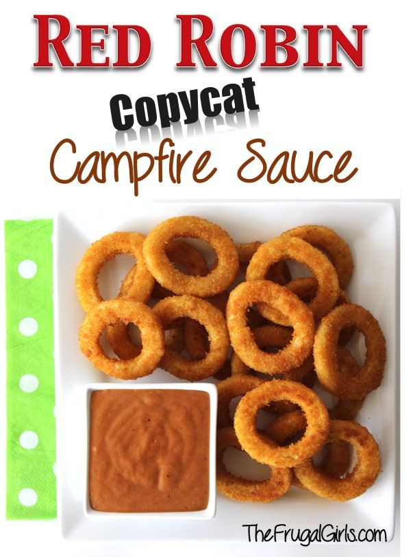 Red Robin Copycat Campfire Sauce! ~ from TheFrugalGirls.com {mix some up in a flash as a dipping sauce for your onion rings, fries, or as a yummy burger sauce!} #copycat #recipes
