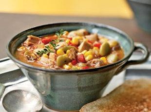 Pressure Cooker Brunswick Stew ♥ Just a Pinch