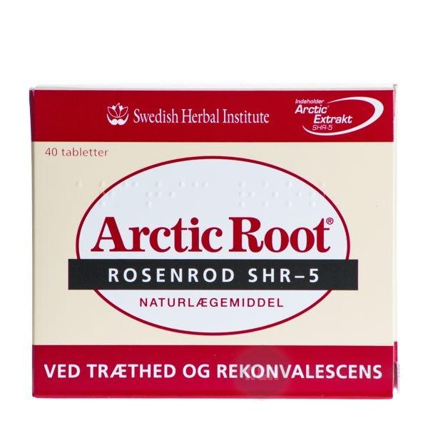 Du kan bruge Arctic Root Rosenrod ved træthed og rekonvalescens.  Rosenrod er et naturlægemiddel som virker opkvikkende og kan give dig mere mentalt overskud.  Samtidig har Rosenrod også den evne at den kan øge dine lyster og kan virke som et mildt elskovsmiddel.