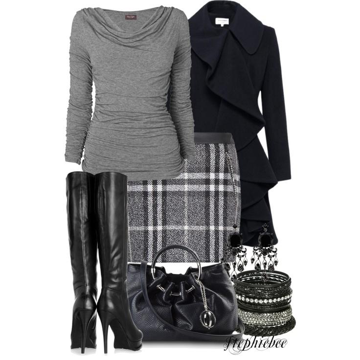 Plaid Skirt - Polyvore