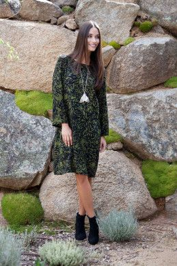 that bird label Robbie Shift Dress - Womens Knee Length Dresses - Birdsnest Clothing Online