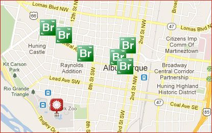 Albuquerque Film: Breaking Bad location self-guided tour
