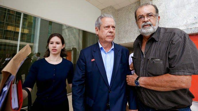 O que você fazia quando...: José Dirceu recebeu 1,2 milhões de reais enquanto ...